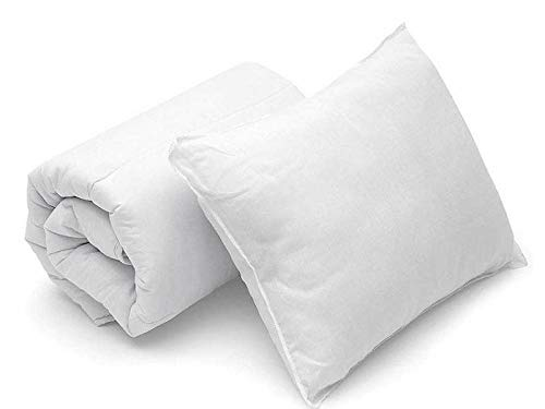 KTL Anti-Allergy Baby Toddler Cot, Bed Duvet Quilt. (9 Tog Duvet + Pillow)