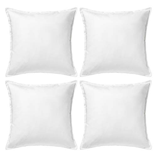 Ikea GURLI - Cushion cover, White - 50x50 cm (Pack of 4)