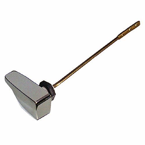 """Danco 88363A Side mount Handle, 9-1/4 In L, Metal, Chrome, For Use With Eljer Toilet Tanks, 9-1/4"""""""
