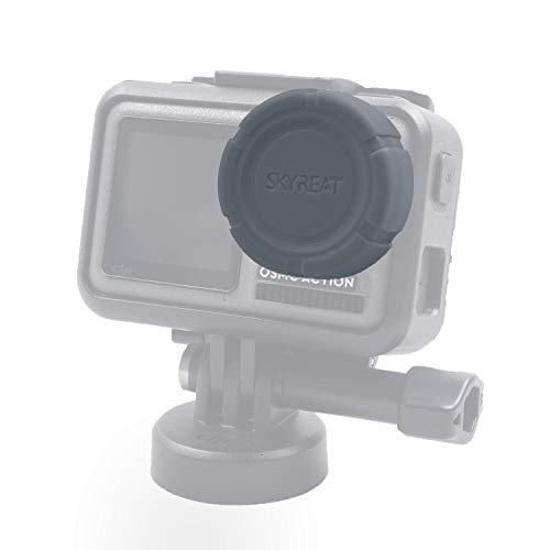 Skyreat Silicone Soft Rubber Lens Cap Cover Accessories for DJI Osmo Action Camera
