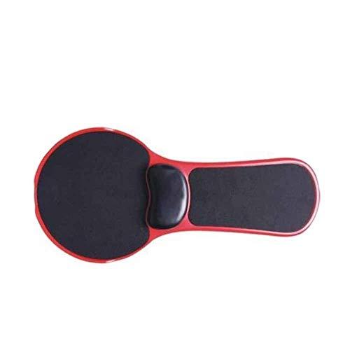 Mauspads Handgelenkstützen Weiche Computerarmzubehör Aufsteckbarer Schutzstuhl Extender Rutschfester Tisch, rot, doppelt verwendbar