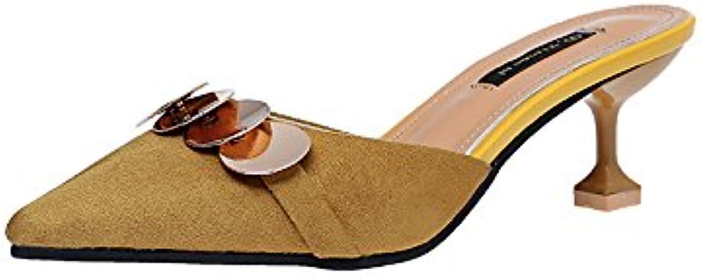 Xue Qiqi Hochhackigen Schuh_hochhackigen Schuh Tipp fein mit Sandalen faule Menschen Freizeit