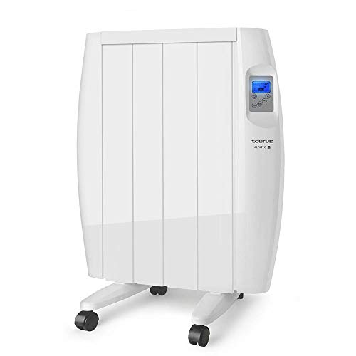potente para casa Taurus Tallin 600 – Calentador radiante, tecnología de secado, programación diaria semanal, temperatura …