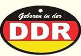 Lufterfrischer DDR schwarz rot Gold in Duftnote Rose - Ossi Produkte