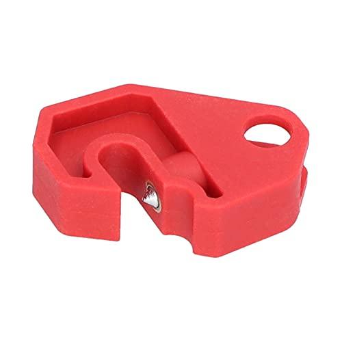 FILFEEL Bloqueo de disyuntor, candados de Seguridad para Estaciones de Bloqueo y etiquetado, bloqueos de disyuntor multipolo, Bloqueo de Orificio de Bloqueo de 10 mm / 0,4 Pulgadas con Destornillador