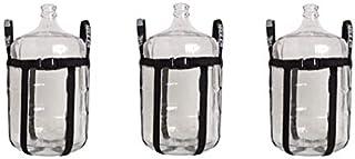Brew Hauler FE338 Nylon Carboy Carrier (3-(Pack))