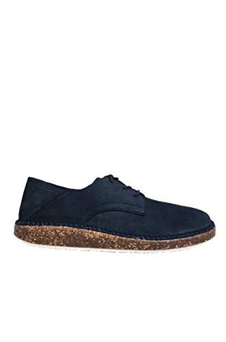 Birkenstock Limited Edition Women's Gary Lace Up Suede Shoe-Navy Suede_10.5