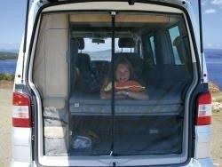 Brandrup FLYOUT 3 Heckklappe für VW T5 Kombi Beach nur mit Blechdach
