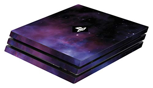 Software Pyramide PS4 Pro Skin Galaxy Violet Cover PS4