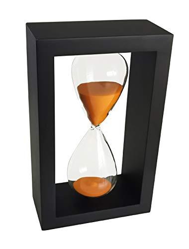 Timer Hourglass 60 Minutes Ornamento Timer Clessidra 60 Minuti Decorazione per Ristorante Soggiorno Casa Scrivania Camera Da Letto Festa In Festa Natale Sabbia Timer Orologio Sandglass Arancione