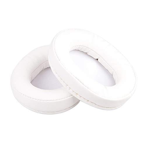 beioust Almofadas auriculares, 1 par de almofadas auriculares de couro macio de esponja de espuma de substituição para fones de ouvido SteelSeries Arctis 3 5 7 acessórios