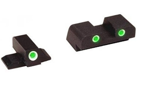 Ultimate Arms Gear XD-191 ALL Springfield XD models, Tritium Night Sight Set