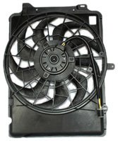 TYC 620640 Ford/Mercury Replacement Radiator/Condenser Cooling Fan Assembl