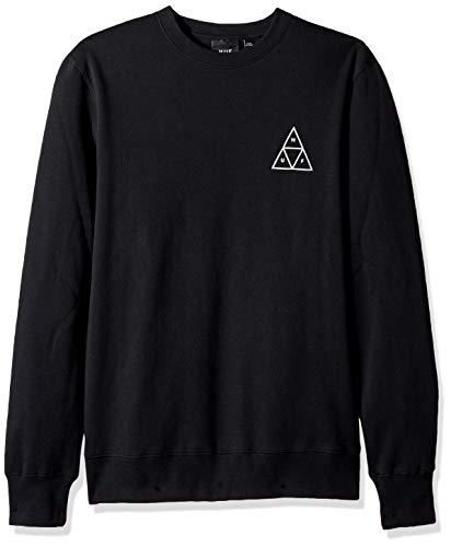HUF Essentials TT Crew Sweater Small Black