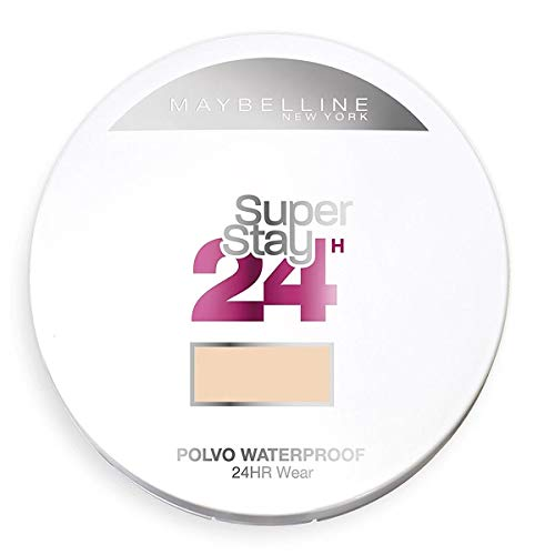 Maybelline New York Polvos Compactos Superstay 24 H, Larga Duración, Tono 21 Nude