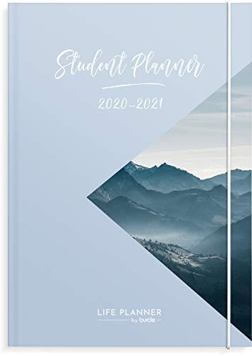 Student Planner Schülerkalender 2020/2021 | Übernehmen Sie die Kontrolle über Ihr Studium | Studien Tracker & To-Do-Listen | Akademischer Schülplaner für August 2020 - August 2021