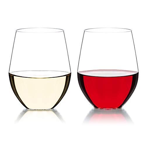 Vaso de vino irrompible resistente a la caída,Plástico Tritan de alta transparencia y de alta calidad,Vasos de bebidas irrompibles