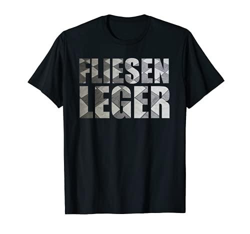 Klamottenpott: Fliesenleger Fliesen Witziges Geschenk T-Shirt
