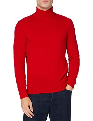 United Colors of Benetton 1002U2180 Maglione, Red 015, M Uomo