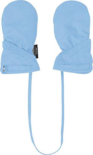Playshoes Baby-Unisex Fäustling mit Thinsulate Wind-und wasserdichte Kinder-Handschuhe, Blau 17, 0 (0-12 Monate)
