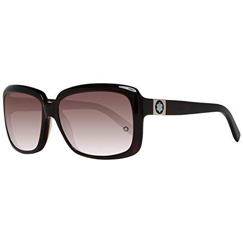 Montblanc Sonnenbrille Women Brown