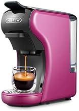 ماكينة تحضير القهوة 3 في 1 (زهري) متعددة الكبسولات