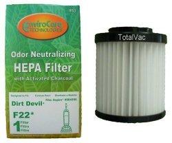 Dirt Devil Aspire Vacuum F22 Charcoal HEPA Filter