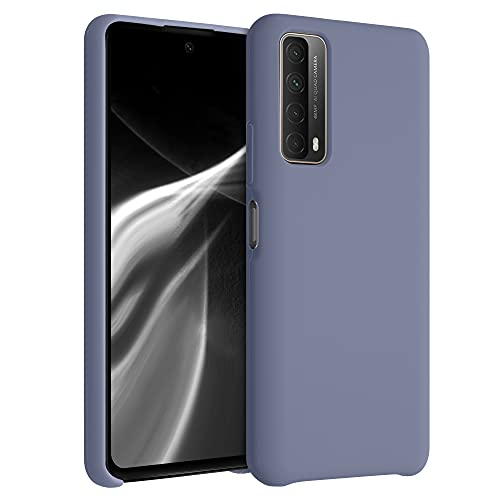 kwmobile Cover Compatibile con Huawei P Smart (2021) - Custodia in Silicone TPU - Back Case Protezione Cellulare Lavanda Opaco