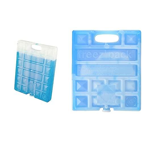 CAMPINGAZ 21628 Acumulador Frio, Freez&Squotpack M30, Azul, 26 X 20 X 3 Cm + M20 Acumulador Frio, Unisex, Azul, 17 X 3 X 20 Cm