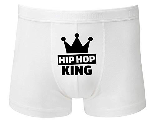 Boxershort - Hip Hop King Krone - Unterhose für Herren und Männer