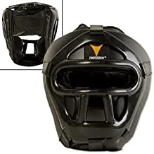 Pro Force Thunder Vinyl Head Guard w/Face Shield