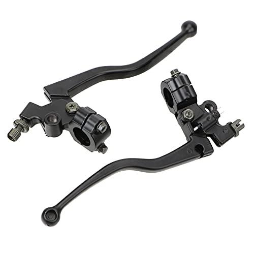 1 par de aleación de Aluminio 22 mm de Cable Freno Delantero Delantero Izquierdo y Derecho de Motocicleta de Freno palancas de Embrague Manillar Palanca de Embrague