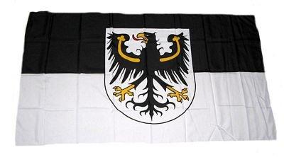 Fahne Stockflagge Ostpreussen NEU 30 x 45 cm Flagge