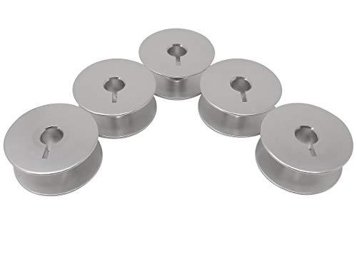 Z.N. 5 - Bobinas de aluminio para máquinas de coser Dürkopp 244 Adler 167 (ligeras)