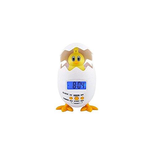 HAB & GUT -SG003- Poppy Chick witziger DIGITALWECKER - Küken im Ei - batteriebetrieben