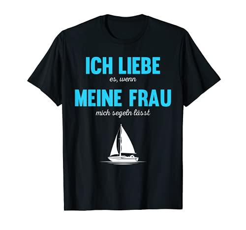 Segler Segeln Segelboot Skipper Sailing Katamaran Geschenk T-Shirt