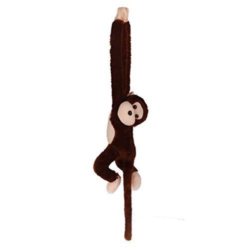 JKLI Kuschel Plüsche Mode Nette Kreischen AFFE Plüsch Puppe Puppe Gibbons Geschenk Kaffee Lustige Geschenke Wangwu