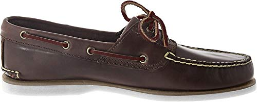 Timberland Męskie buty Classic 2 Eye Boots, brązowy - Braun Med Brown Full Grain - 44.5 eu