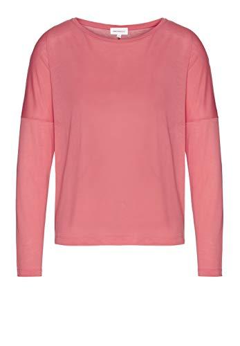 Preisvergleich Produktbild ARMEDANGELS Damen LONNAA - LONNAA - XL Pink Rose 100% Lyocell (Tencel) Shirts Longsleeve Langarm Rundhals