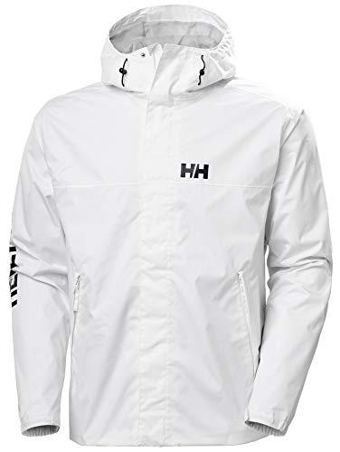 Helly Hansen Ervik - Chaqueta para hombre, Hombre, 64032, blanco, medium