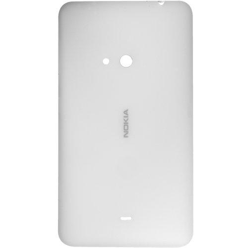 Original Nokia copribatteria per Nokia Lumia 625 - bianco/bianco (batteria vano coperchio, batteria copertura, retro, Back-Cover) - 8003088 // Con tasti pagine