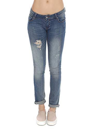 jeans fracomina donna Fracomina Jeans Donna GRETA8 Stonewash (27)
