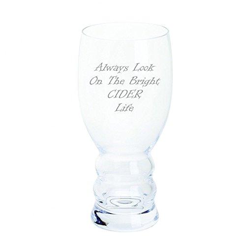Dartington Always Look On The Bright Sider Life - Vaso de Sidra para Manualidades