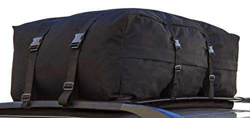 Motorup America Rooftop Cargo Carrier Water-Proof Bag - Fits Select Vehicles Car Truck Van SUV
