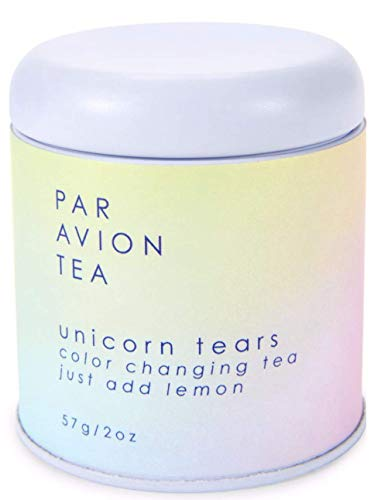 Par Avion Tea , Unicorn Tears Tea - Color Changing Green Tea With Rose Hip and Natural Flavors - 2 oz