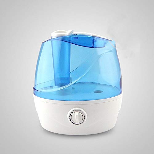 Enfriar humidificadores tranquilas niebla Humidifier- for el dormitorio, por ultrasonidos humidificador de bebé opcional temporizador, Easy Clean Sin filtro humidificador de aire for el Ministerio del