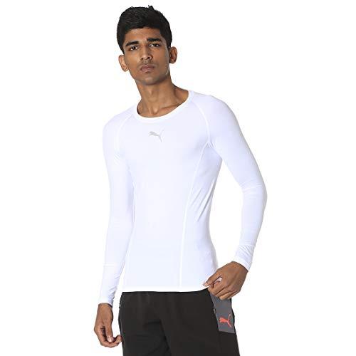 PUMA Liga Baselayer Herren Langarm-Shirt Puma White XS