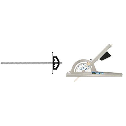 シンワ測定(Shinwa Sokutei) 丸ノコガイド定規 TスライドII 60cm 73714 & 丸ノコガイド定規 ジャスティーII 23cm 78176【セット買い】
