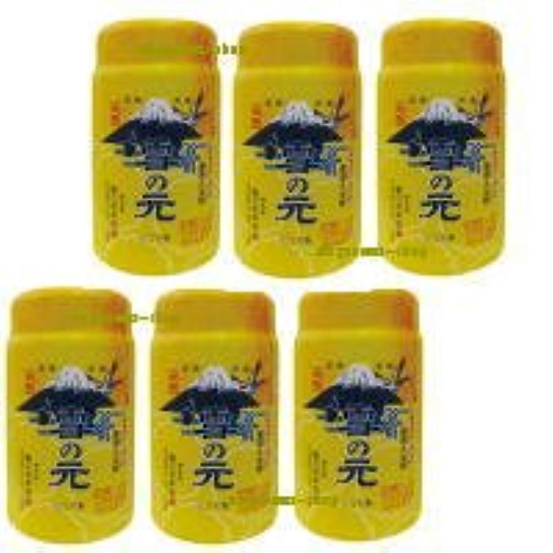 カンガルーノミネート予防接種浴用 雪の元 (900g) 6個