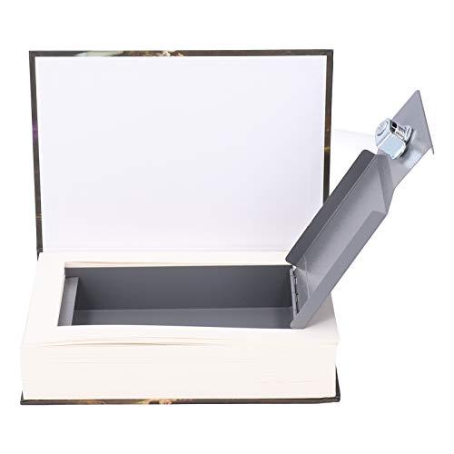 con llaves Buen ocultamiento Caja de seguridad Caja de dinero Forma de libro simulado, para guardar joyas